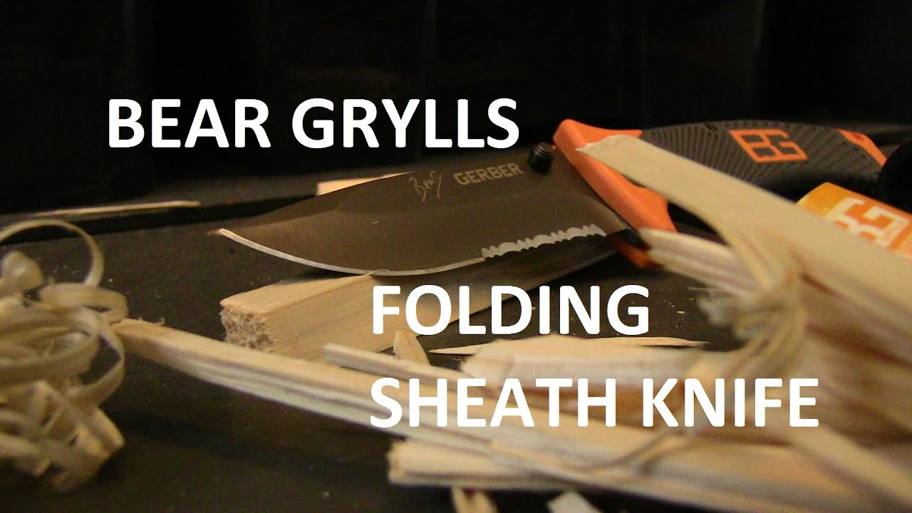 Is the BEAR GRYLLS folding sheath knife worth the money
