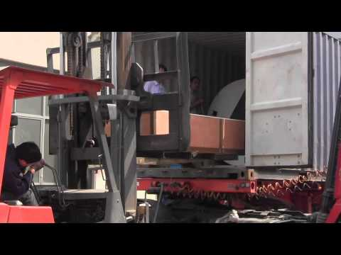 Container 2(20'GP) loading of HDPE sheet line to Czech-----www.egmachinery.com
