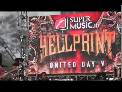 OSAKA Live At. HELLPRINT UNITED DAY V (Lap. Yon Zipur 9 Ujungberung, Bandung)