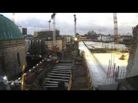 Zeitrafferfilm 2013-2014: Sanierung der Staatsoper Berlin