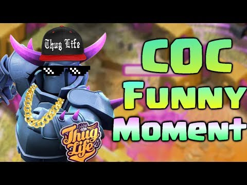 COC Funny Moments, Glitches, Fails and Trolls Compilation #5 | CLASh OF CLANS The Giant's Surprise