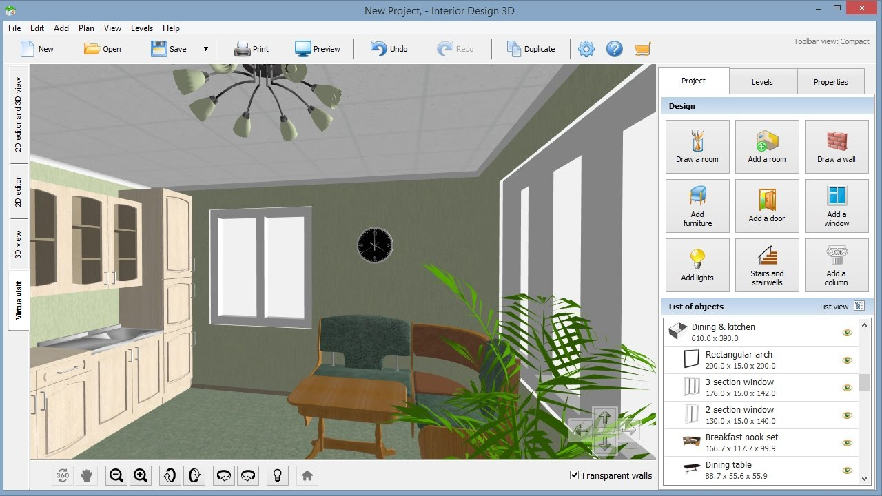 Interior design software review your dream home in 3d youtube for Interior decorating software free