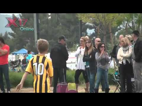 Britney Spears And Kevin Federline Attend Sons' Soccer Game