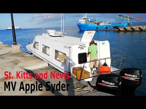 MV Apple Syder (Speed Boat) from Basseterre, St. Kitts to Charlestown, Nevis