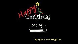 """Happy Christmas""-Sylvia Triantafyllou, Xmas song - jingle, μουσικό χαλί,background music with video"
