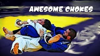 Judo Ne-Waza compilation (Choking techniques)