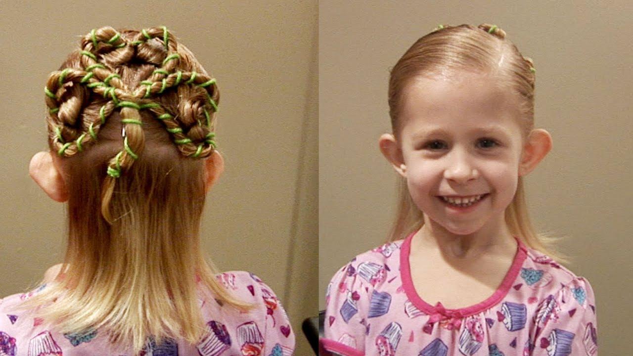 Shamrock // St. Patricks Day Hair // 3 leaf Clover Cute ...