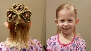 Shamrock // St. Patricks Day Hair // 3 leaf Clover Cute Girls Hairstyles