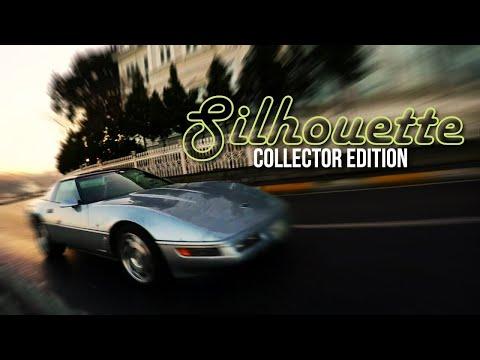 Silhouette - 1996 Chevrolet Corvette Collector Edition