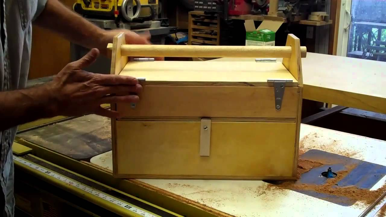 Father & Son Toolbox Project - YouTube