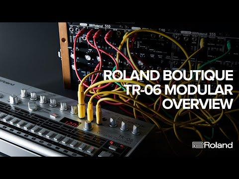 Roland Boutique TR-06 Modular Overview (Part 2 of 2)