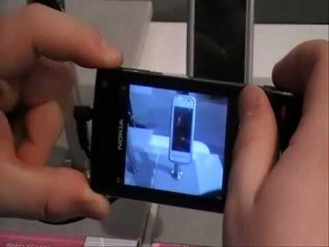 Nokia X6 16GB und Nokia X6 32GB im Livetest auf der Cebit 2010 vom Handyshop 24mobile.de
