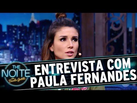The Noite (10/10/16) - Entrevista com Paula Fernandes