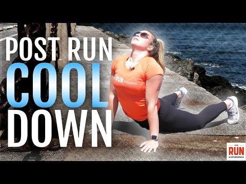 5 Minute Follow Along Post-Run Cooldown