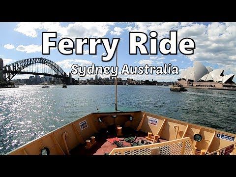 SYDNEY FERRY Ride From Circular Quay To Manly SYDNEY AUSTRALIA | Beautiful SYDNEY HARBOUR VIEW 🇦🇺