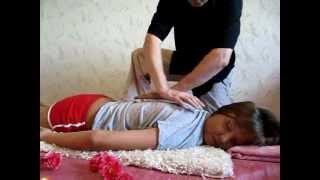 видео частный массаж