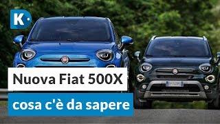 Fiat 500X Cross, City Cross e Urban: tutto quello che dovete sapere!