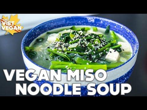 Miso Noodle Soup The Viet Vegan