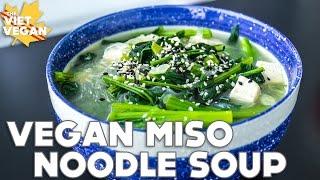 Miso Noodle Soup | The Viet Vegan