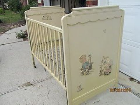 Vintage Baby Cribs Youtube