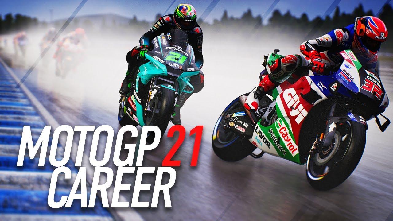 HONDAS HOME GP!! | MotoGP 21 Career Mode Gameplay Part 35 (MotoGP 2021 Game PS5 / PC)