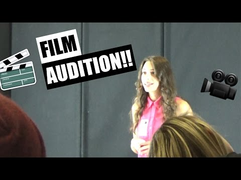 MY FIRST ACTING AUDITION!!!
