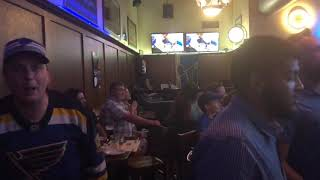 Watch as St. Louis Blues fans react to the team's first-ever Final win