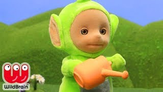 Teletubbies Full Animated Episode 💐 Planting Flowers 💐 Teletubbies Stop Motion 🎨 Crafty Kids