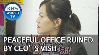 Peaceful office ruined by CEO's visit [Boss in the Mirror/ENG/2019.11.03]