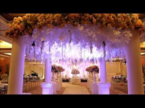The Wedding Decoration of Andreas & Daina - Mandarin Oriental