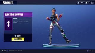 dance ELECTRO SHUFFLE Fortnite