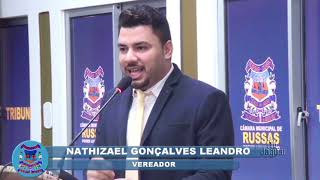 Pronunciamento Vereador Nathizael Gonçalves - Eleição Câmara Municipal de Russas.