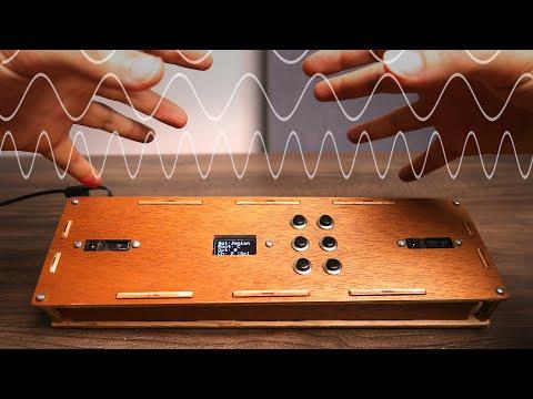 I Built a MIDI THEREMIN! Theremidi - A DIY Arduino MIDI Controller