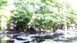 Salmon fishing on the River Bush leap stretch Bushmills