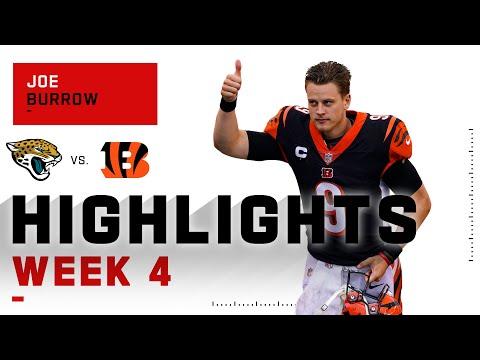 Joe Burrow Gets His First NFL Win!   NFL 2020 Highlights