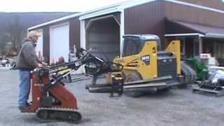 Vermeer LG42 Log Grapple For Mini Skid Steer Loader Toro Dingo For Sale Mark Supply Co
