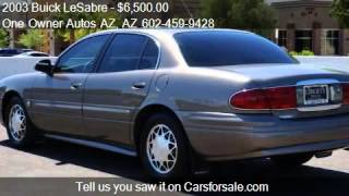 2003 Buick LeSabre 4dr Sdn Custom - for sale in Peoria, AZ 8