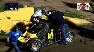 Cedar Lake Speedway UMSS Traditional Sprint Car Highlights