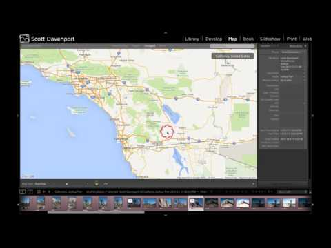 Geotag Photos With GPX Track Logs In Lightroom