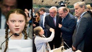 Greta Thunberg To Eu's Juncker: