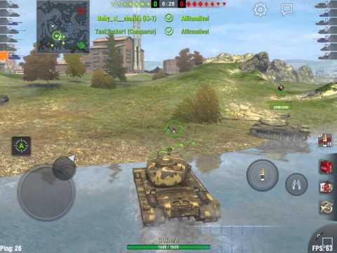 World of Tanks Blitz - T30: close game