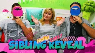 Kelly & Carly Vlogs : LITTLE KELLY SIBLING REVEAL!