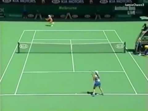 Justine Henin vs Kim Clijsters 2004 AO Highlights