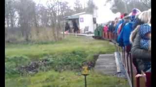 Santa Express 2013 at Barnards Farm Miniature Railway