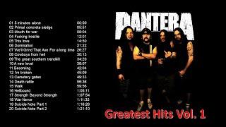 Pantera Greatest Hits Vol.  1