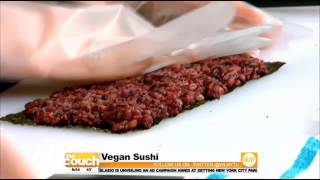Cooking On The Couch: Vegan Sushi