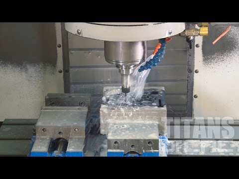 Titan teaches on Machining Composite G10 - CNC Machining Education