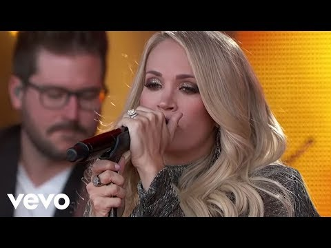 Carrie Underwood  Ghosts On The Stereo  From Jimmy Kimmel !