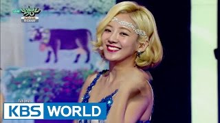 girls generation 소녀시대   lion heart music bank k chart 1 20150904