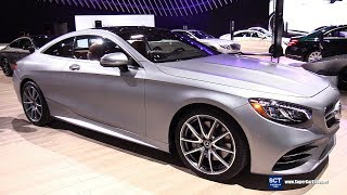 2018 Mercedes Benz S Class Coupe - Exterior and Interior Walkaround - 2018 New York Auto Show